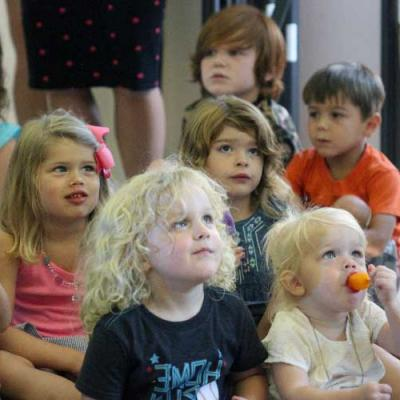 Children in Sunday School